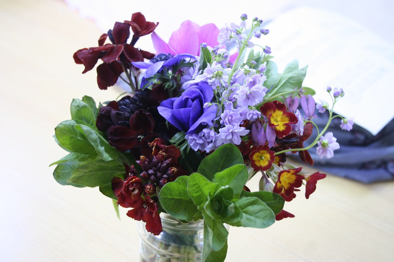 Spring flowers from Mayfield Flowers