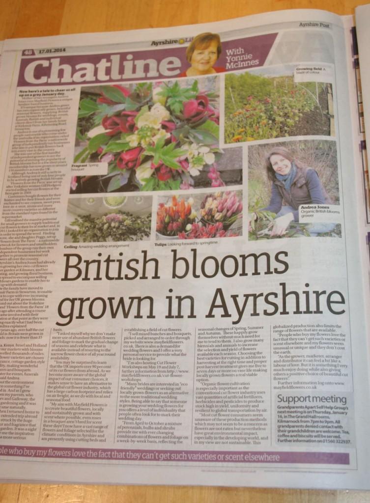 Ayrshire post Jan 2014