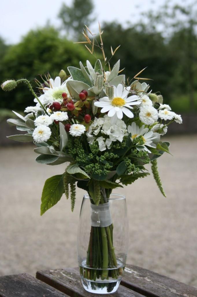 July Scottish Wedding flowers bridemaid