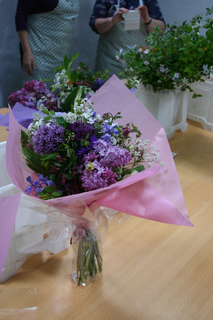 May workshop bouquet