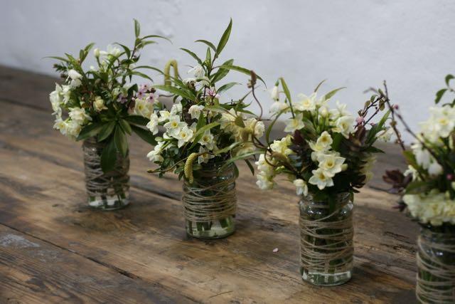 Mayfield Flowers March jam jars
