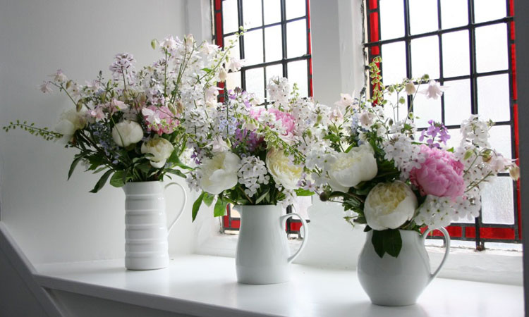 Natural Scottish Wedding Flowers