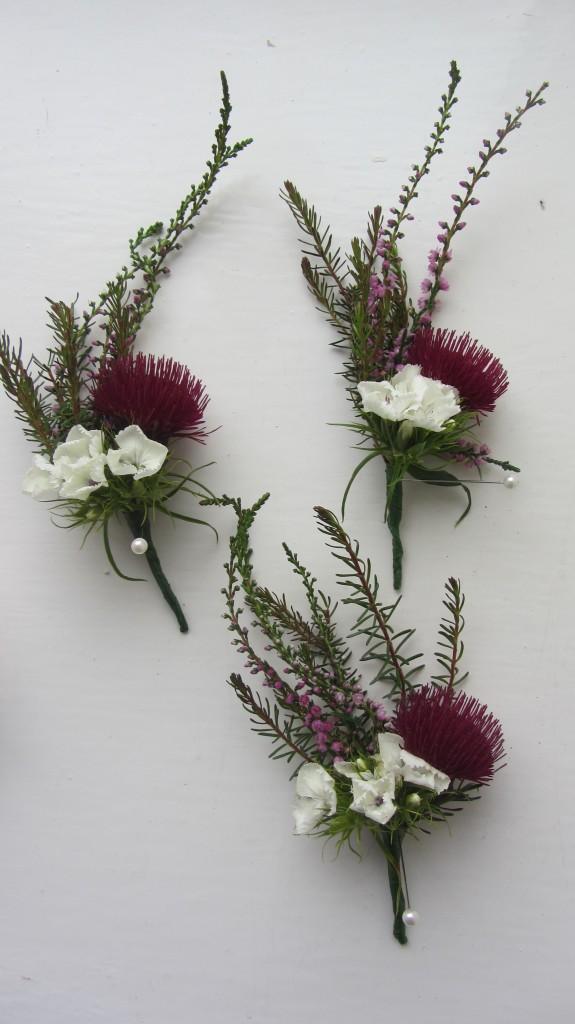 Scottish buttonholes July