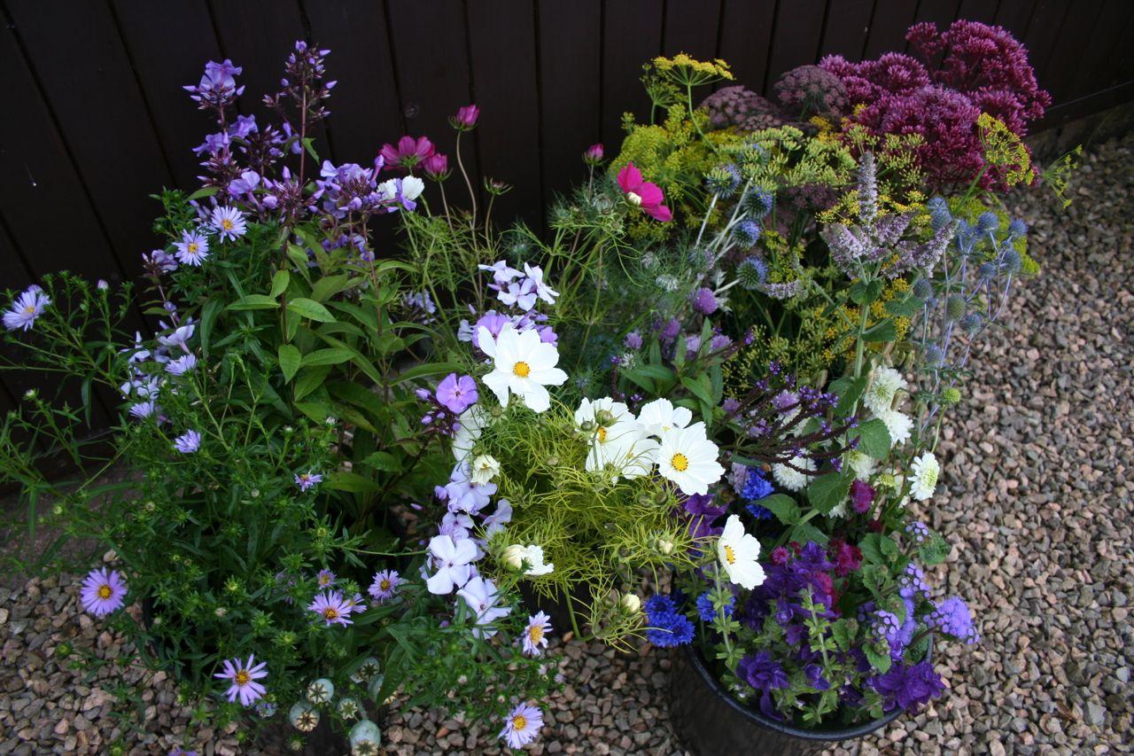 Sept DIY wedding flowers