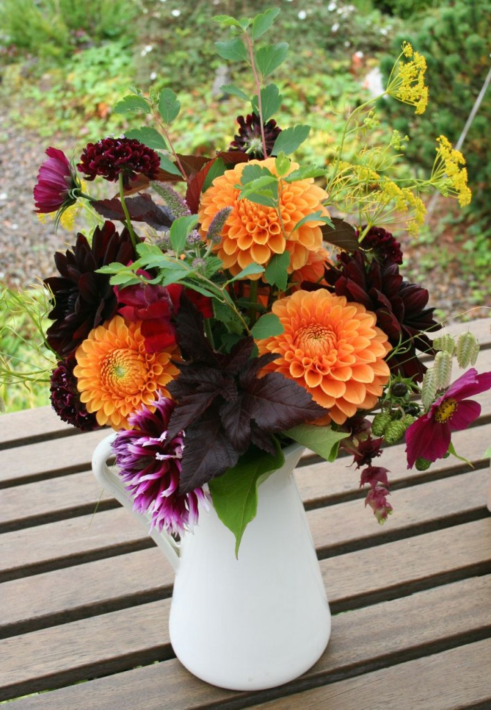 September Scottish Grown flowers