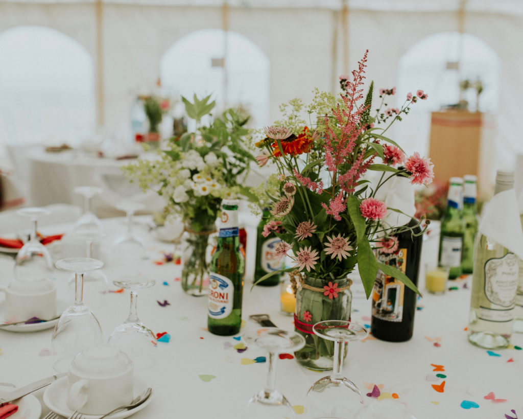 Mayfield Flowers natural Scottish wedding flowers