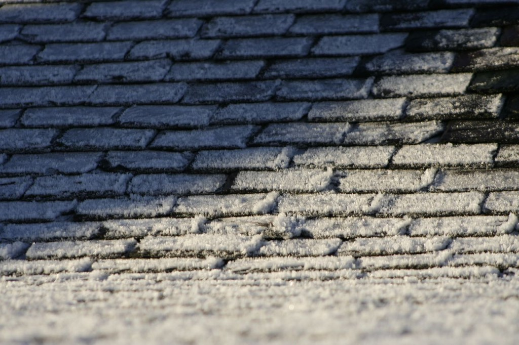 frosty roof