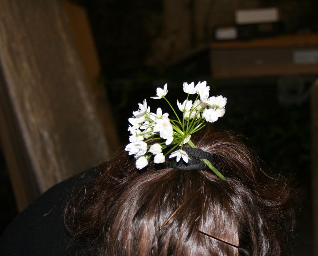 hair flower June