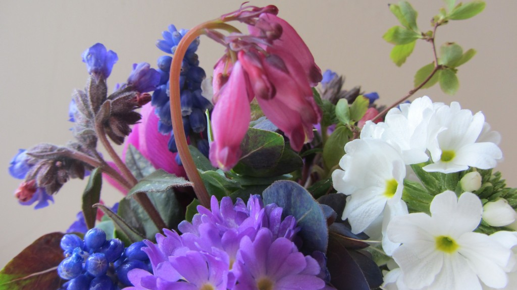 locally grown spring flowers 2